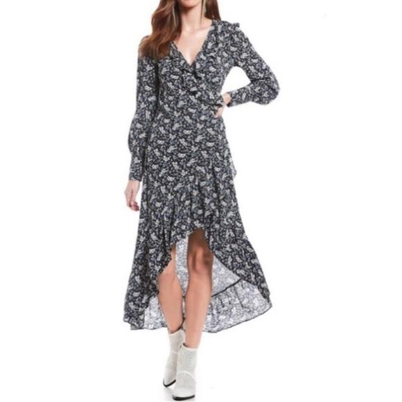 CHELSEA & VIOLET Twilight Lights Floral Dress